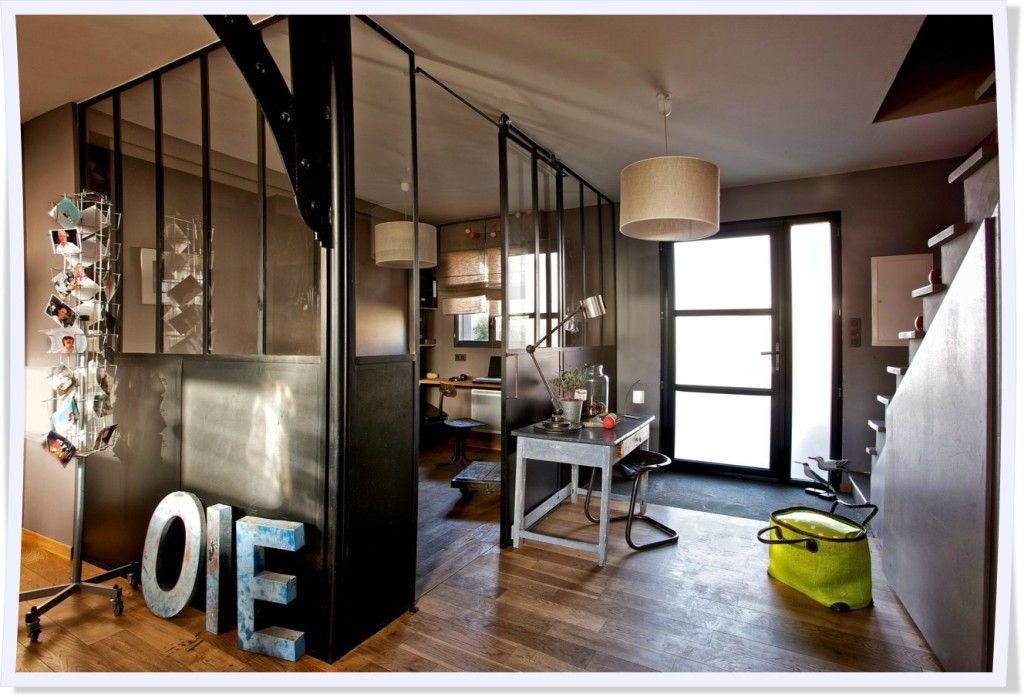 decoration interieur industrielle