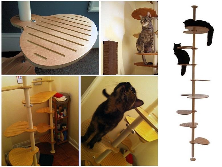 Décoratif et pratique c'est l'arbre à chat design 3