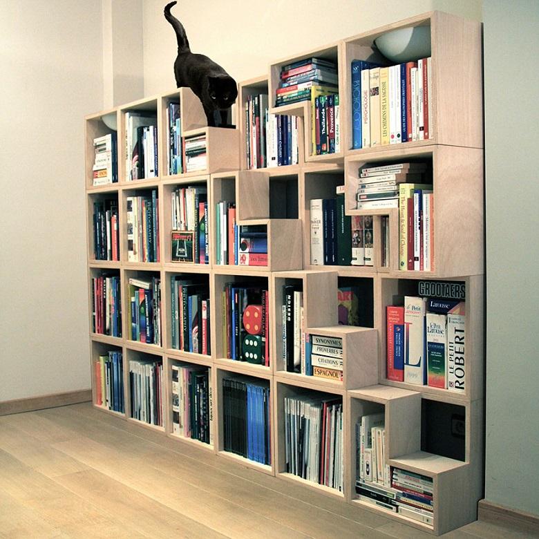 Décoratif et pratique c'est l'arbre à chat design 4