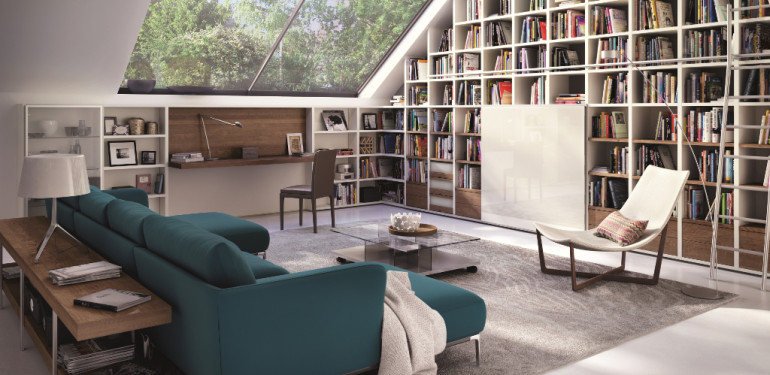 rangement sous pente gagner de la place facilement. Black Bedroom Furniture Sets. Home Design Ideas