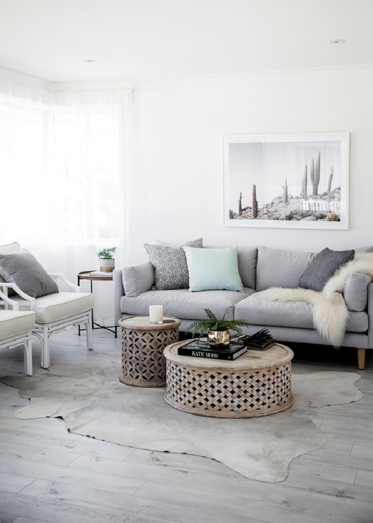 5 idées de décoration intérieur pour embellir votre salon - Sweety Home