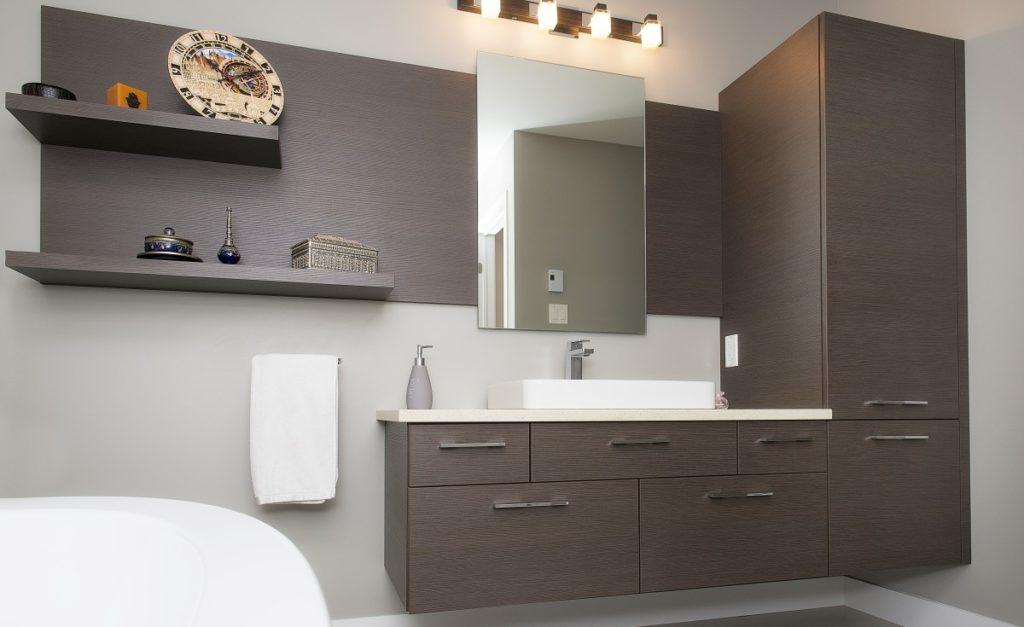 armoire salle de bain deco